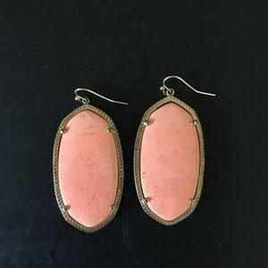 Coral Kendra Scott Earrings
